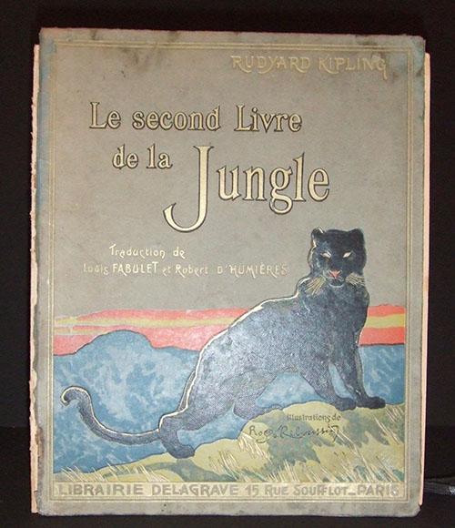 Livre jungle avant restauration